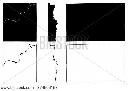 Vermillion, Tipton And Tippecanoe County, Indiana (u.s. County, United States Of America, Usa, U.s.,