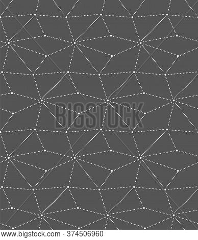 Seamless Modern Vector Rhombus Wallpaper Texture. Continuous Asian Graphic, Continuous Textile Patte