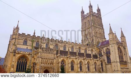 Famous Gloucester Cathedral In England - Travel Photography