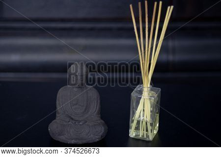 The Figure Symbolizes Calm, Peace Of Mind