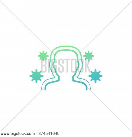 Immune System And Immunity Vector Icon, Eps 10 File, Easy To Edit