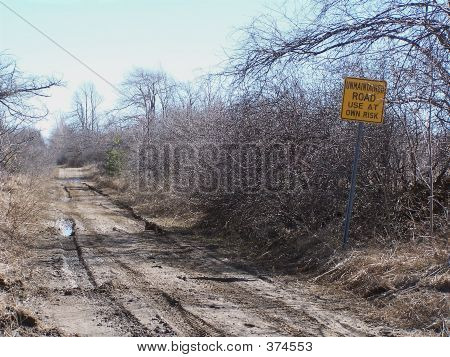 Unmaintained Road
