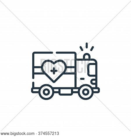 delivery truck icon isolated on white background from kindness collection. delivery truck icon trend