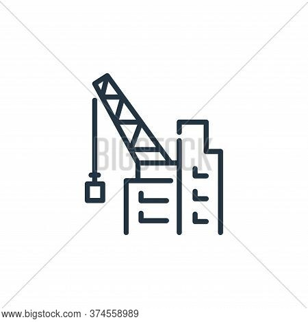 construction icon isolated on white background from insurance collection. construction icon trendy a