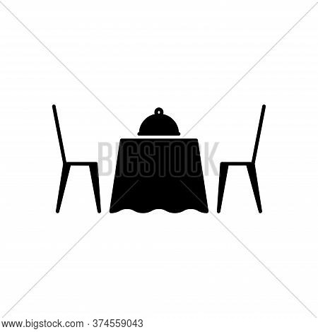 Illustration Vector Graphic Of Restaurant Icon. Fit For Food, Eat, Dining, Lunch Etc.