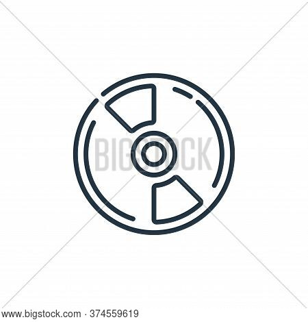 cd icon isolated on white background from plastic products collection. cd icon trendy and modern cd