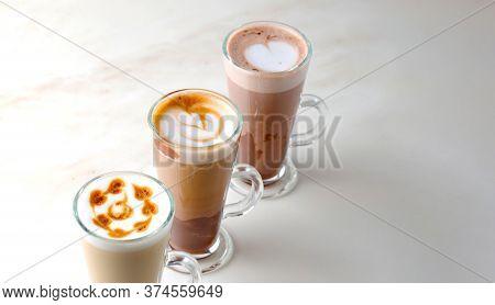 Italian Iced Coffee Latte Collection.italian Iced Coffee Latte Collection