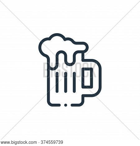 beer mug icon isolated on white background from mexico collection. beer mug icon trendy and modern b