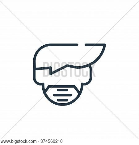 mask icon isolated on white background from symptoms virus collection. mask icon trendy and modern m