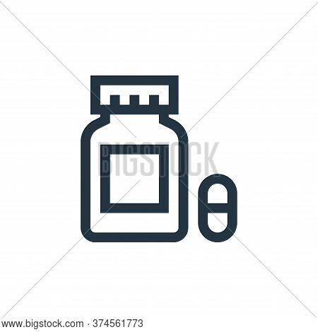 capsules icon isolated on white background from pharmacy collection. capsules icon trendy and modern