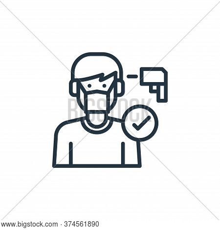 sick icon isolated on white background from virus collection. sick icon trendy and modern sick symbo