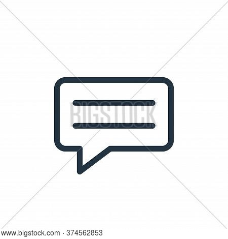 message icon isolated on white background from technology collection. message icon trendy and modern