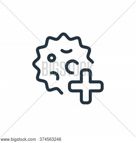 health care icon isolated on white background from coronavirus collection. health care icon trendy a