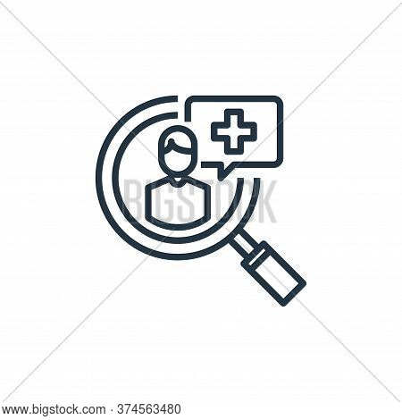 recruitment icon isolated on white background from human resources collection. recruitment icon tren