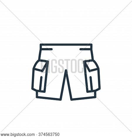 pants icon isolated on white background from wardrobe collection. pants icon trendy and modern pants