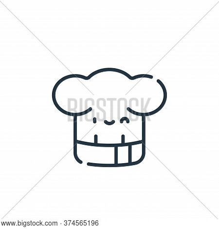 chef icon isolated on white background from italy collection. chef icon trendy and modern chef symbo