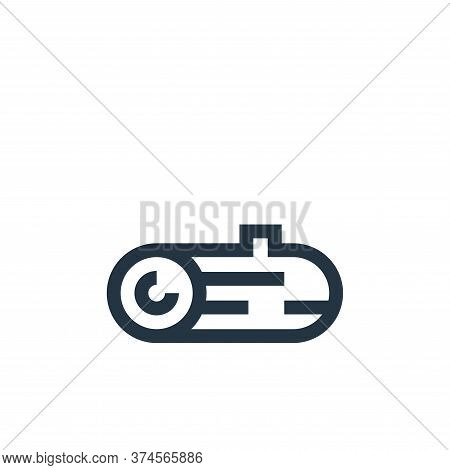 wood icon isolated on white background from video game elements collection. wood icon trendy and mod