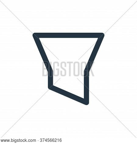 filter icon isolated on white background from user interface collection. filter icon trendy and mode