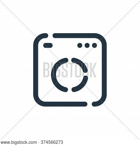 analytics icon isolated on white background from seo collection. analytics icon trendy and modern an