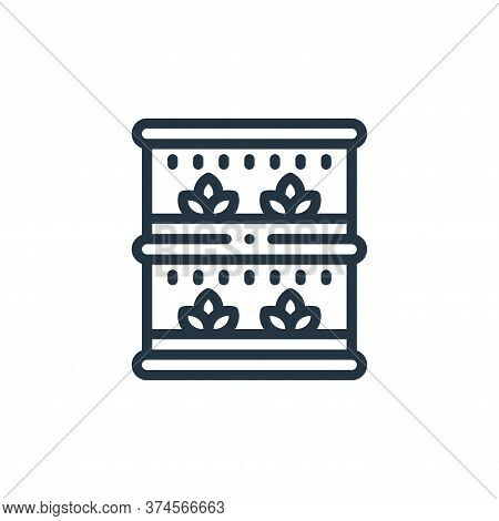 vertical farming icon isolated on white background from smart farm collection. vertical farming icon