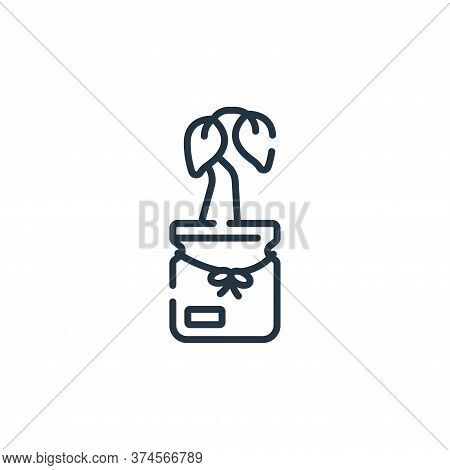 sprout icon isolated on white background from hope collection. sprout icon trendy and modern sprout