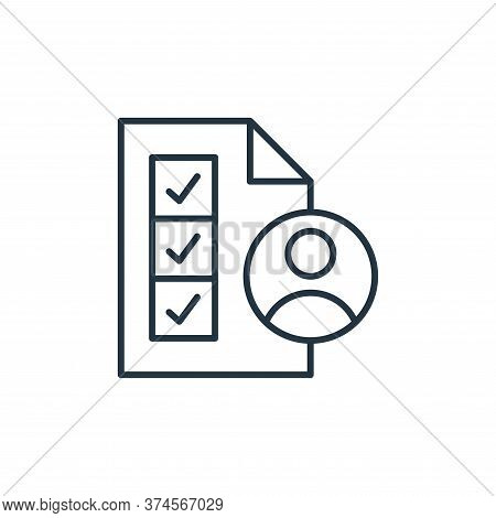 skills icon isolated on white background from leadership collection. skills icon trendy and modern s