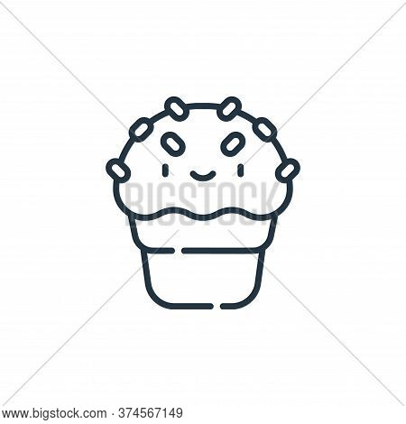 ice cream icon isolated on white background from circus collection. ice cream icon trendy and modern