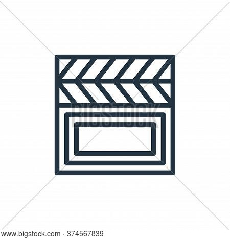 film icon isolated on white background from hobbies collection. film icon trendy and modern film sym