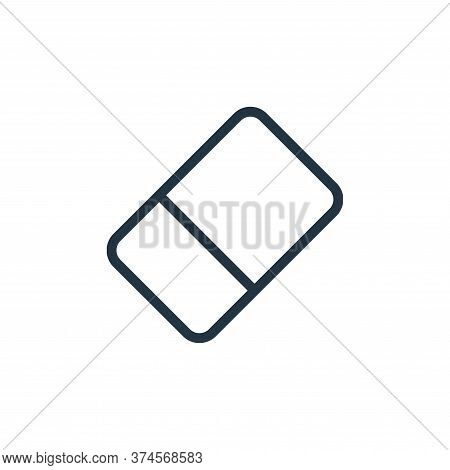 Eraser Vector Icon From Work Office Supply Collection Isolated On White Background