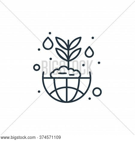 ecosystem icon isolated on white background from earth day collection. ecosystem icon trendy and mod