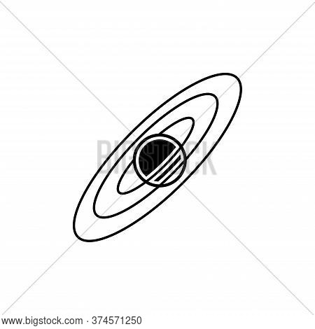 Illustration Vector Graphic Of Astronomy Icon. Fit For Space, Galaxy, Education, Observation Etc.