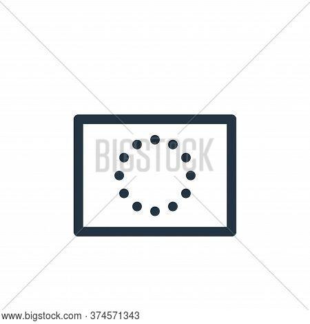 european union icon isolated on white background from europe collection. european union icon trendy
