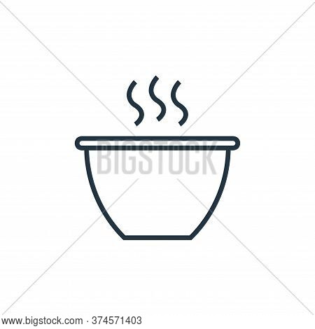 hot drink icon isolated on white background from school collection. hot drink icon trendy and modern