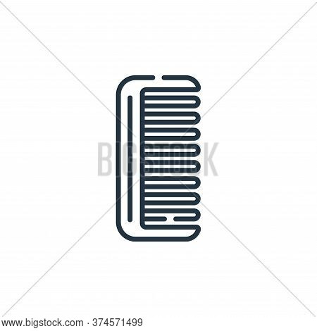 comb icon isolated on white background from bathroom collection. comb icon trendy and modern comb sy