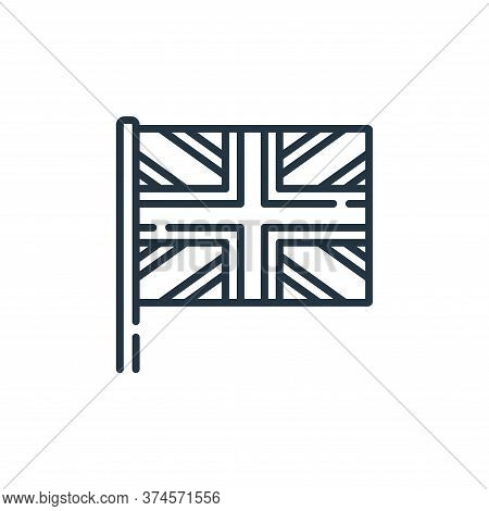 united kingdom icon isolated on white background from england collection. united kingdom icon trendy