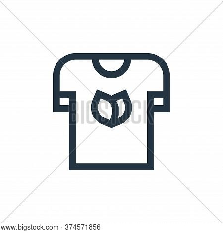 t shirt icon isolated on white background from vegan collection. t shirt icon trendy and modern t sh