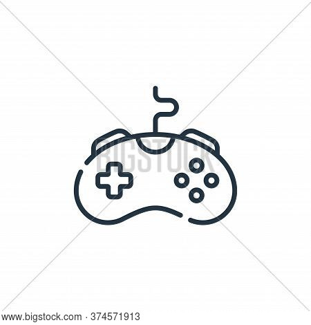 game controller icon isolated on white background from videogame collection. game controller icon tr