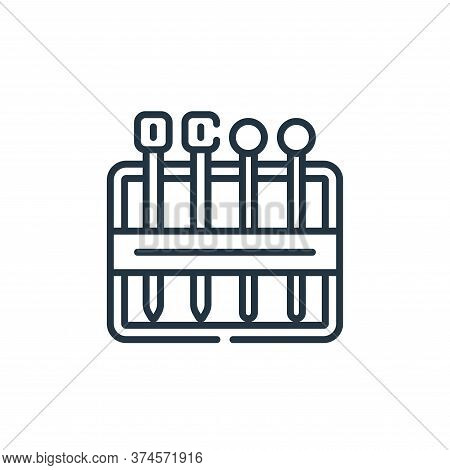 needles icon isolated on white background from sewing collection. needles icon trendy and modern nee