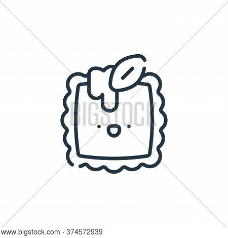 ravioli icon isolated on white background from italy collection. ravioli icon trendy and modern ravi