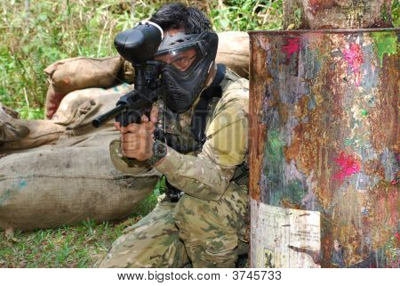 Paintball Woodsball