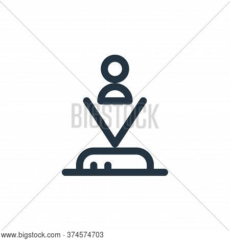 hologram icon isolated on white background from technology of the future collection. hologram icon t