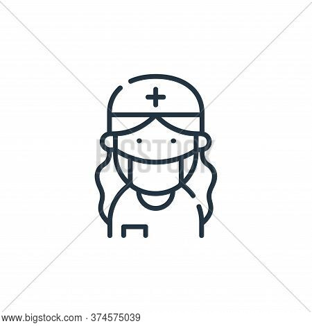 dentist icon isolated on white background from dental care collection. dentist icon trendy and moder