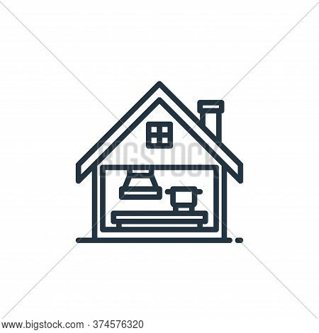 cooking icon isolated on white background from stay at home collection. cooking icon trendy and mode