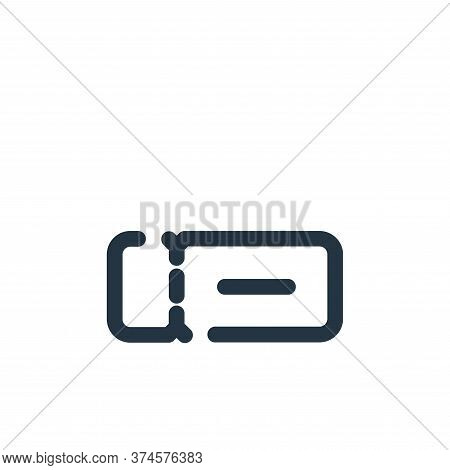 ticket icon isolated on white background from travel collection. ticket icon trendy and modern ticke