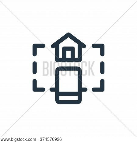 home control icon isolated on white background from internet of things collection. home control icon