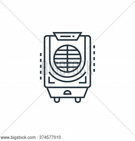 air cooler icon isolated on white background from technology devices collection. air cooler icon tre
