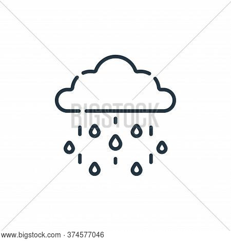 rainy icon isolated on white background from england collection. rainy icon trendy and modern rainy