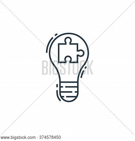 solution icon isolated on white background from environment and eco collection. solution icon trendy