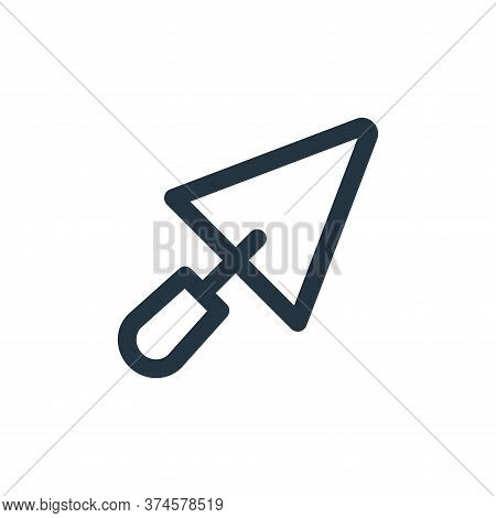 shovel icon isolated on white background from labour day collection. shovel icon trendy and modern s