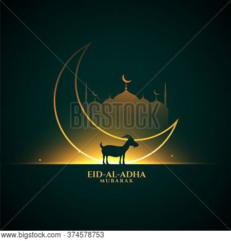 Bakrid Eid Al Adha Festival Greeting Background